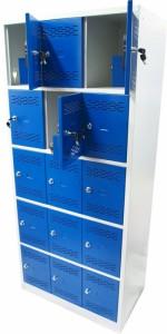 Шкаф с запирающимися ячейками